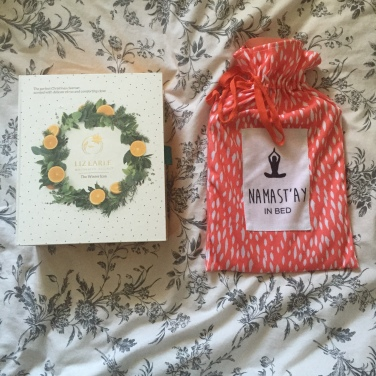 Liz Earle Christmas Hot Cloth Cleanser & Namast'ay In Bed Hot Water Bottle